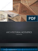Architectural Acoustics & Superconductivity