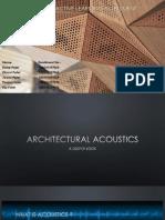 Architectural Acoustics & Superconductivity