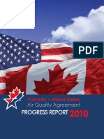 Canada United States Air Quality Agreement Progress Report 2010