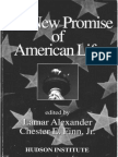 +Alan Reynolds, Economic Foundations of the American Dream