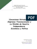 Concesiones Petroleras - Eisa T