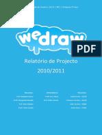 Relatório de desenvolvimento da plataforma weDraw.pt