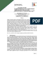05. Analisis Statik Struktur Mesin Pemadat