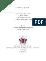 Informe No. 2 Velocidades, Acosta-franco-feijo-reyes