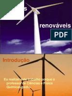 Tipos de energias renováveis e seus conceitos