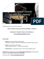 Full eBook How to Match Chords Ch 4