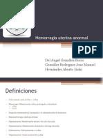 Hemorragia uterina anormal 1-1