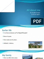 all about me - powerpoint presentation