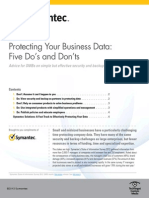 Symantec Data Protection Dos and Donts Final 328