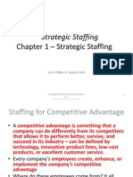 MAN 4320 Strategic Staffing Spring, 2011 Ch 1 - Final