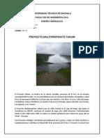 INFORME Tahuín