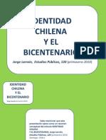 Jorge Larraín - IDENTIDAD CHILENA Y EL BICENTENARIO