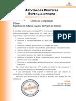 ATPS - 2014 1 Cienc Computacao 3 Eng Software Analise Projeto Sistemas