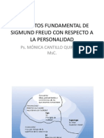 Conceptos Fundamental de Sigmund Freud Con Respecto A
