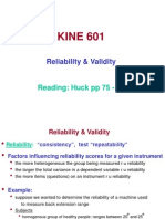 601 4 Research Reliability & Validity