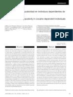 Impulsividad y Compulsividad en Individuos Dependientes de Cocaina