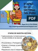 Etapas de La Historia Peruana