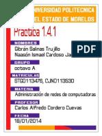 Practica 1.4.1 -Gibran Salinas, Ismael Cardoso