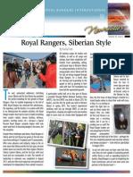 Royal Rangers International Newsletter (Quarter 1 of 2014)