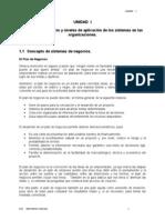 86827978 UNIDAD I Sistemas de Negocio y Niveles de Aplicacion en Las Organizaciones
