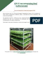Vantagens e recomendações FVH_. Hidro Ambiente
