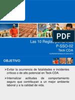 Reglas Por La Vida Teck CDA VSept2013