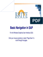 Super User Basic Navigation in SAP Windows 12-05-07