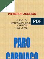 PRIMEROS AUXILIOS 1ros.