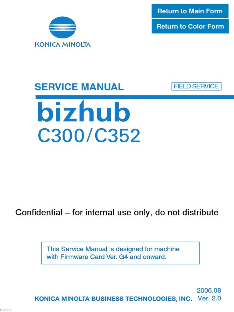 Bizhub error c9402