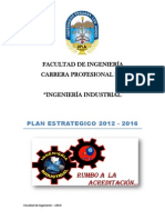 Plan Estrategico c.p. de Ing. Industrial-2012