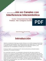 Deteccion en Interferencia Intersimbolica