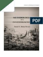 METODOLOGÍA DE LA INVESTIGACIÓN. DANIEL S. BEHAR RIVERO