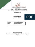 Guiatext Eclesiología (J.Benaloy -30.06.11) (1)
