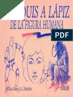 CROQUIS A LÁPIZ  DE LA FIGURA HUMANA)