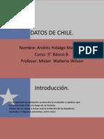 Datos de Chile