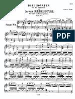 Beethoven Sonata Po 10 No 2