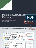 AppConnect Partners- Overview Dec 2013