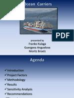 Ocean Carriers Presentation