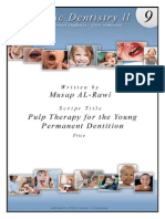4 - 10) Pulp Therapy for the Young Permanent Dentition