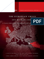 The European Crisis and its Human Cost