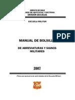 Manual Simbología Militar Bolsillo