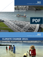 UN Climate Change Working Grp II Report