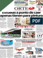 Periódico Norte de Ciudad Juárez edición impresa del 31 marzo del 2014