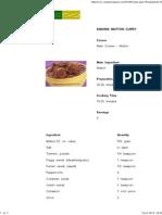 Andhra Mutton Curry Sanjeev Kapoor