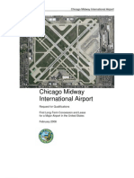 RFQ Midway 8Feb08First Long-Term Concession and Lease for a Major Airport in USA