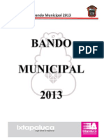 Bando Municipal 2013
