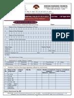 Renewal Form 2014 15