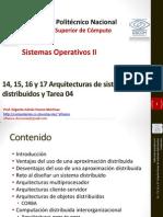 14 15-16-17 Arquitecturas de Sistemas Distribuidos y Tarea 04