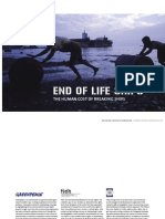 End of Life the Human Cost Of