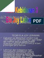 Ela Joy Lehrman dalam kebidanan